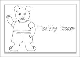 bears colouring sheets sb4358 sparklebox