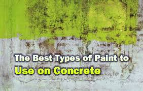 what is the best type of paint to use on slate the best types of paint to use on concrete home