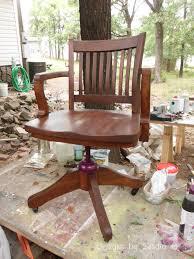 restoring an antique solid oak desk chair u2013 designs by studio c
