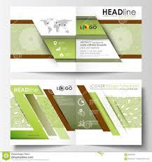 business templates square design bi fold brochure flyer leaflet