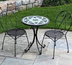 Wrought Iron Patio Furniture Manufacturers Wrought Iron Bistro Set U2013 Mobiledave Me