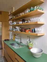 etagere en verre pour cuisine étourdissant etagere murale en bois pour cuisine décoration