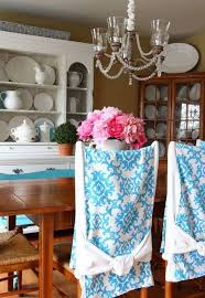 blue white dining room chair slipcovers wonderful dining room