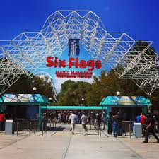Six Flags Los Angeles A Busy Day In La Dave U0027s Travel Corner