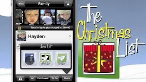 the christmas list the christmas list gift tracking and shopping app
