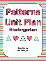 patterns in kindergarten patterns unit kindergarten by heidi wagner teachers pay teachers