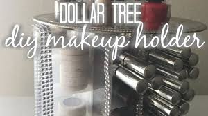 light up display stand dollar tree dollar tree diy spinning makeup organizer diy home decor youtube