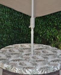 Tablecloth For Umbrella Patio Table Patio Table Covers With Umbrella Foter