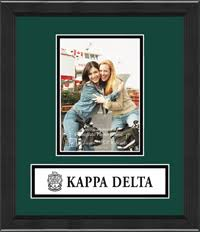 sorority picture frames sorority and fraternity frames church hill classics