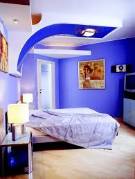 Contemporary Blue Bedroom - bedroom paints design ideas wall painting designs for bedrooms
