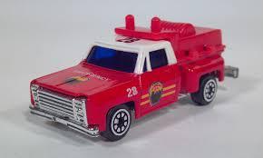 matchbox chevy van diecast toy fire trucks