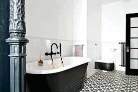 black white bathroom tiles ideas black and white floor tile designs partum me