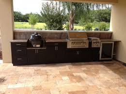 Astounding Polymer Kitchen Cabinets For Outside With Black Veined - Outdoor kitchen cabinets polymer