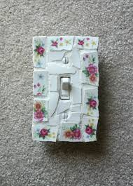 Shabby Chic Light Switch Covers by 139 Best Mosaic Switch Plates Images On Pinterest Switch Plates