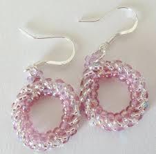 beginner earrings circular herringbone earrings beginner tutorial