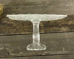 16 Inch Pedestal Cake Stand Square Cake Stand Etsy