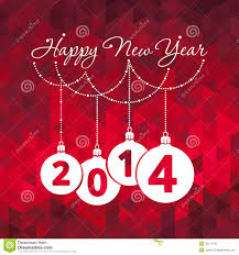 happy new year greeting card royalty free stock image image