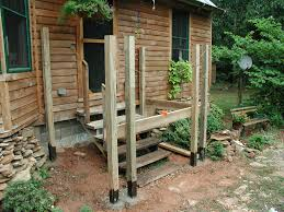 small front porch or deck addition