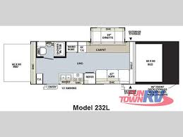 expandable rv floor plans new 2010 forest river rv rockwood roo 232l expandable at fun town