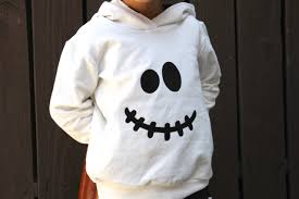 Kids Ghost Halloween Costume Ghost Hoodie Only Toddler Ghost Costume Baby Ghost Costume