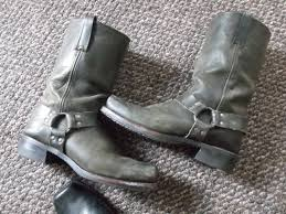 harness boots old well worn mens frye harness boots by bootsandsneaks on etsy