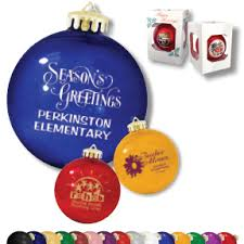 ornaments imprinted promotional products