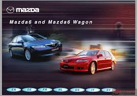 mazda 6 full workshop manual inc engine manual auto repair
