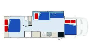 eclipse camper rental details information from apollo eclipse camper floorplan night time vehicle plans