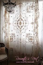 Boho Window Curtains Pink Lace Curtain By Keet I Believe In Pink Pinterest
