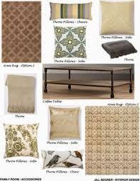 Online Interior Design Help by Jill Seidner Interior Design Concept Boards New Home