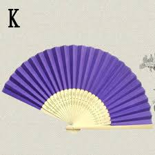 held paper fans vogue folding held paper fans favors bamboo pocket fan