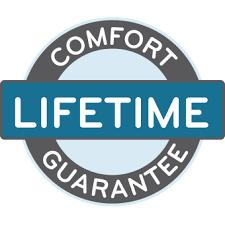 Comfort Icon Lifetime Comfort Guarantee Verlo Mattress