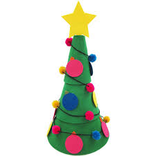 wall hanging felt christmas tree 90cm hobbycraft