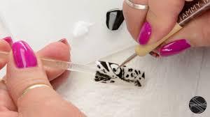 tammy taylor tiger eye nail art design youtube