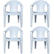 Plastic Outside Chairs Plastic Outdoor Chairs Amazon Co Uk