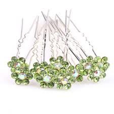 decorative hair pins buy ilovediy 10pcs green hair pins decorative hair