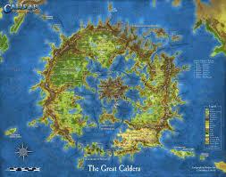 Blank Fantasy World Map by Cal1 Calidar In Stranger Skies Calidar Publishing