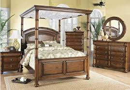 Canopy Bedroom Sets Queen by Key West Coastal Bedroom Furniture Collection