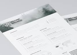 Minimalistic Free Minimalistic And Clean Resume Template Creativebooster