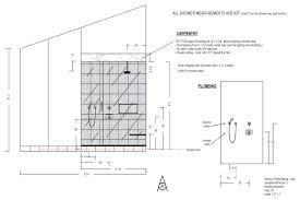 Shower Measurements Bathroom by Brenner Remodeling Design Services Bathroom 1