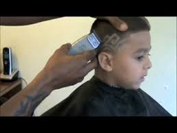 boys haircut with designs kaliq designs haircuts for the children youtube