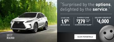 lexus suv lease specials lexus special offers and promotions in mississauga ontario