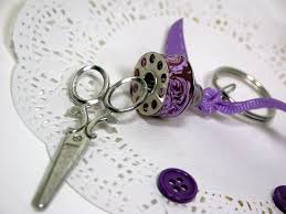 make key rings images Make a pretty key chain the frugal crafter blog jpg