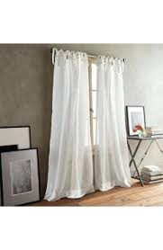 Tab Top Button Curtains Button Top Curtains Paradox Tie Tab Set Of 2 Window Panels Button