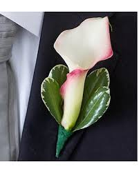 calla boutonniere shopping special pink mini calla boutonniere by 1 800