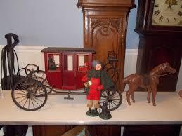 byers choice thanksgiving byers choice 2001 coach coachman 2 children dog u0026 horse