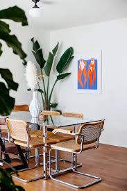 a dining room refresh with cb2 x framebridge calivintage