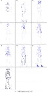subaru emblem drawing how to draw subaru akehoshi from ensemble stars printable step by