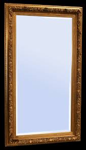 antiker spiegel gold hochwertiger kristallspiegel barock pracht wand spiegel gold holz