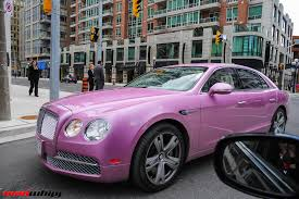 matte black bentley flying spur pink bentley flying spur madwhips
